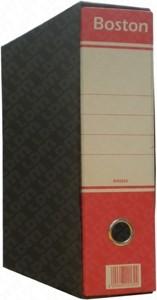 REGISTRATORE COMMERCIALE DORSO 8cm, COLORE ROSSO - FORMATO UTILE 23x30cm - 1PZ