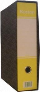 REGISTRATORE PROTOCOLLO DORSO 8cm, COLORE GIALLO - FORMATO UTILE 23x33cm - 1PZ