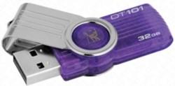 KINGSTONE MEMORIA USB DRIVE COLORE VIOLA - 32GB (velocità di lettura fino a 10/MBs - velocità di scrittura fino a 5MB/s) 1PZ - SIAE INCLUSA NEL PREZZO
