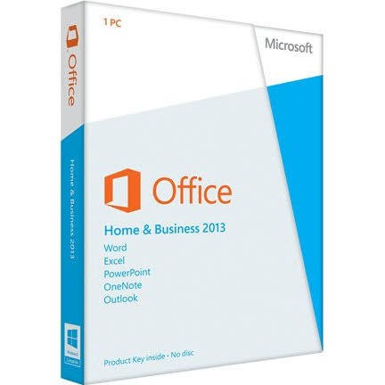 Microsoft Office Home and Business 2013 - PC